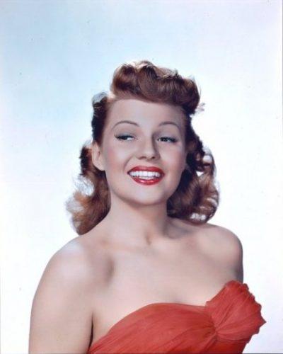 Rita Hayworth en los años 40