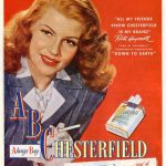Rita hayworth anunciando Chesterfield
