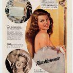 Rita hayworth anunciando Lux
