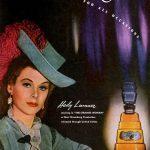 Hedy Lamarr anunciando perfumes Tuya