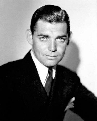 Clark Gable a comienzo de los años treinta