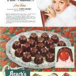Lana Turner anunciando bombones Brach´s