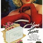Lana Turner anunciando jabón Lux