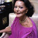 Hedy Lamarr en los años 80
